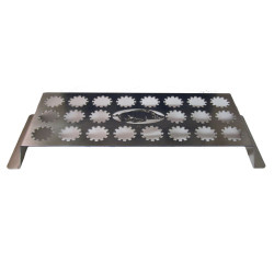 Arkansas Razorbacks Stainless Steel 22-Hole Jalapeno Popper Grill Rack