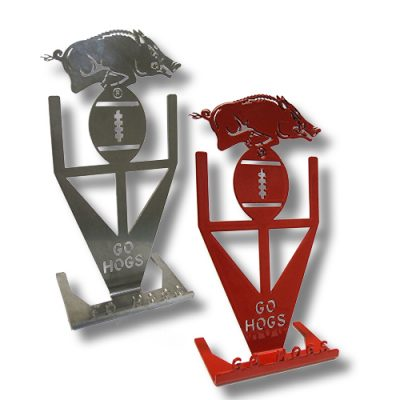 Razorback Phone Holders Red & Silver